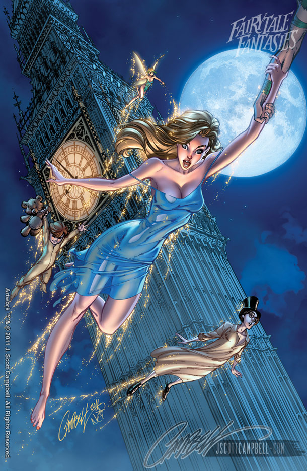 fairy tale fantasies by j scott campbell all that i love