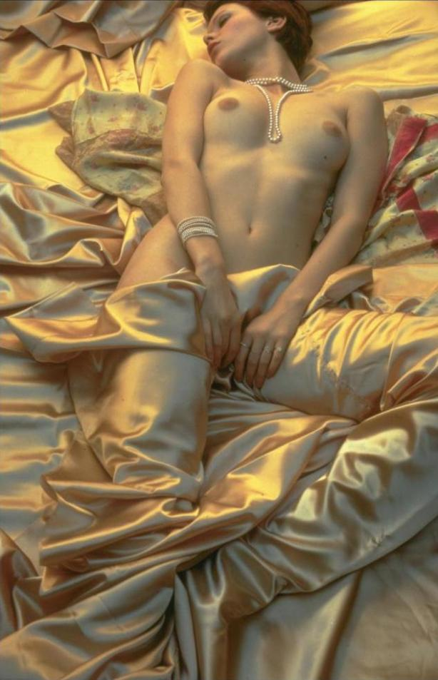 sylvia kristel naked in bed