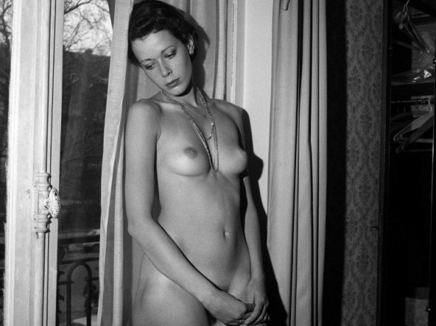 sylvia kristel nude black and white