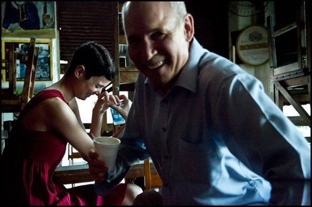 Hanaa Ben Abdesslem and Steve McCurry
