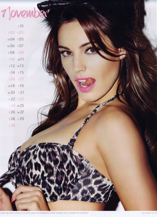 kelly-brook-calendar-2013-november