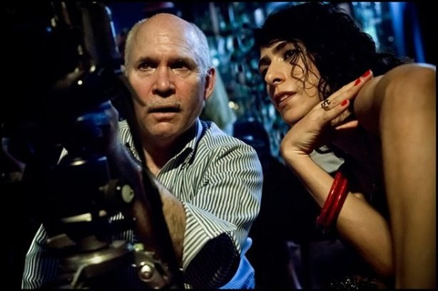 Steve McCurry and Marisa Monte