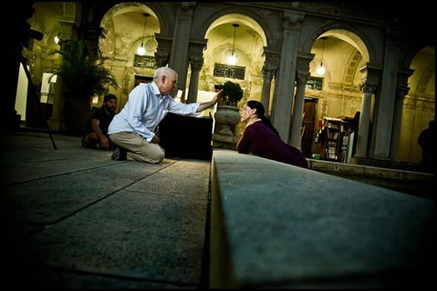 Steve McCurry and Sonia Braga
