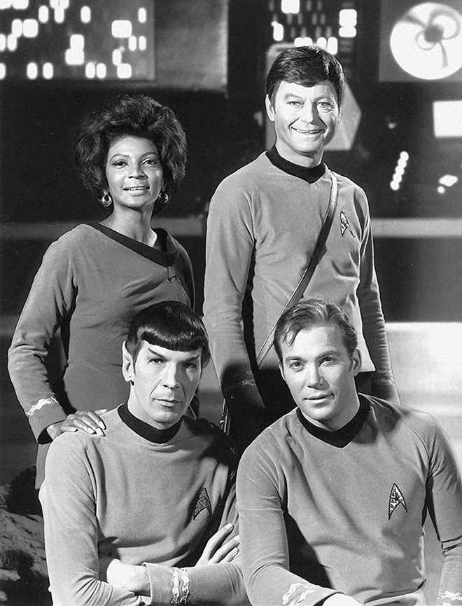 Trek Star Animated Running Spock Series