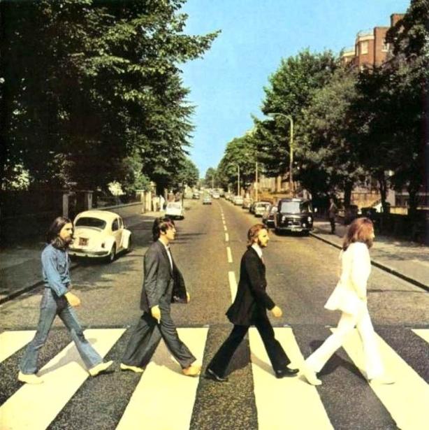 Abbey Road Cover, Iain Macmillan, August 8,1963
