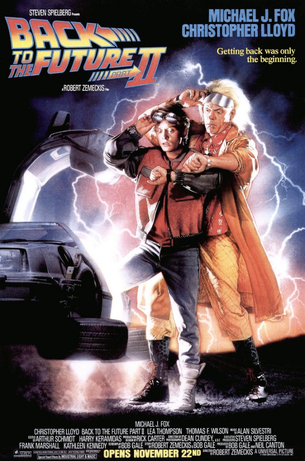 Back to the Future Part II Movie Poster, November 22, 1989