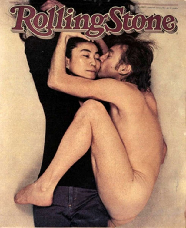John and Yoko Rolling Stone Cover, Annie Leibovitz, December 8, 1970