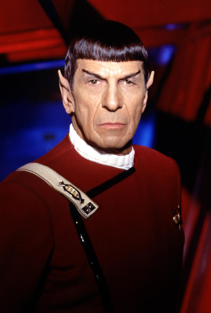 Leonard Nimoy Spock Happy B-Day, Mr...
