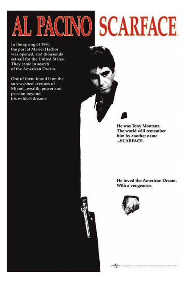 Scarface Poster, 1983