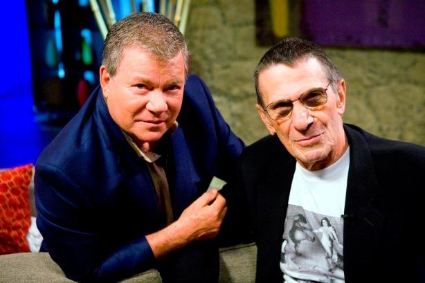 Shatner's Raw Nerve Leonard Nimoy, Chat mit Shatner Leonard Nimoy