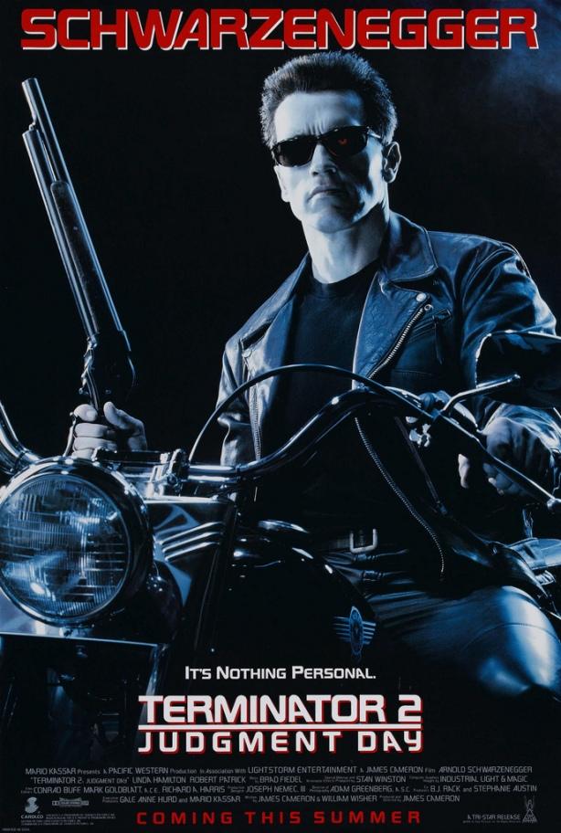 Terminator 2 Poster, 1991