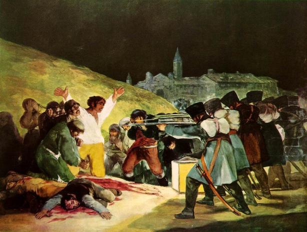 The Third of May, Francisco Goya, 1808