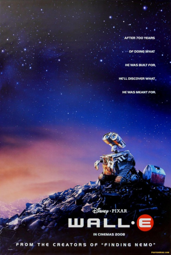 Wall E Movie Poster, 2008