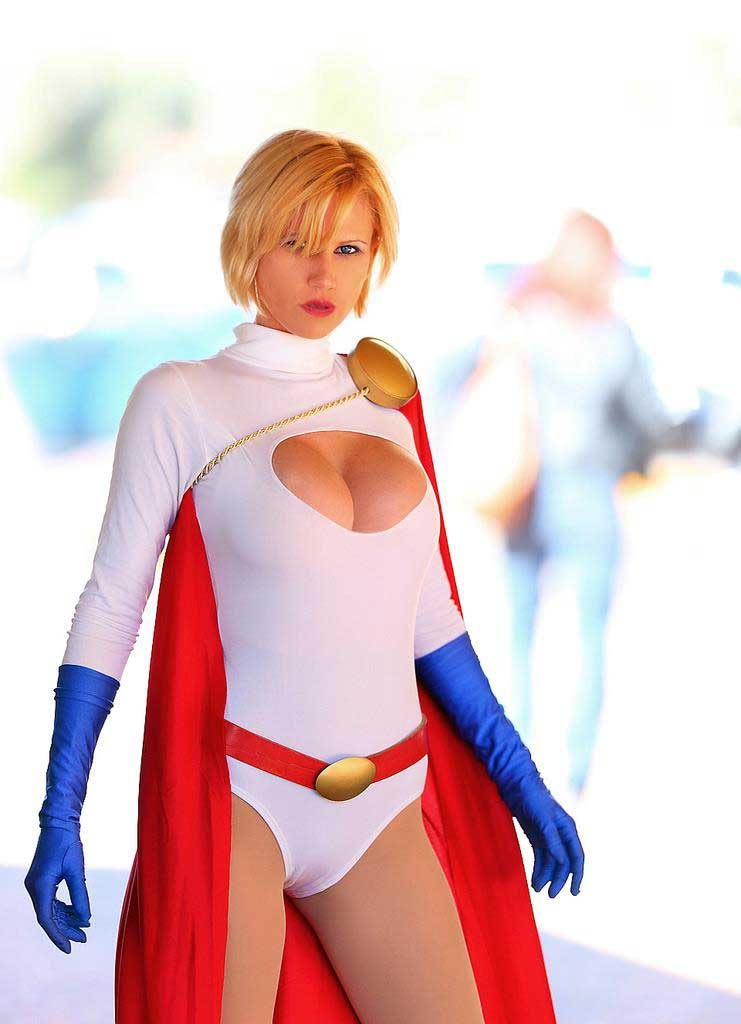 Can help Power girl cosplayers xxx