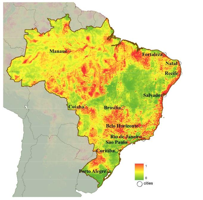 Brazil world cup fever all that i love brazil dengue fever map gumiabroncs Images