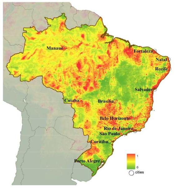 Brazil-dengue-fever-map