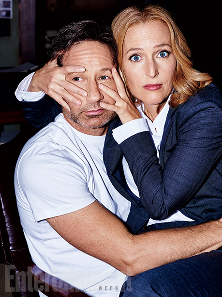 David Duchovny And Gillian Anderson Rolling Stone