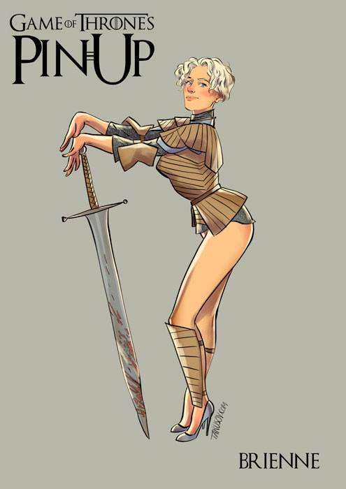 Andrew-Tarusov-Game-of-Thrones-Pin-Ups-Brienne