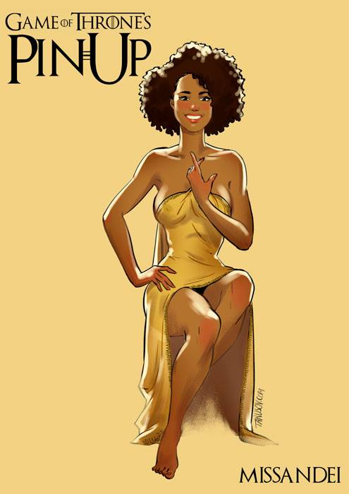 Andrew-Tarusov-Game-of-Thrones-Pin-Ups-Missandei