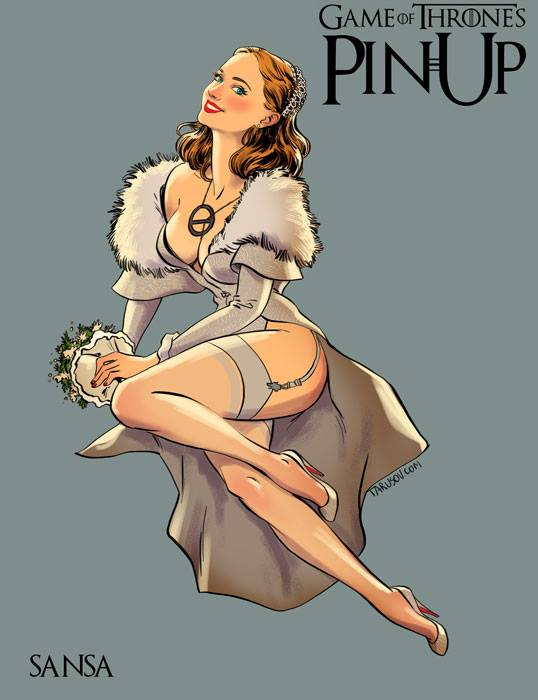 Andrew-Tarusov-Game-of-Thrones-Pin-Ups-Sansa