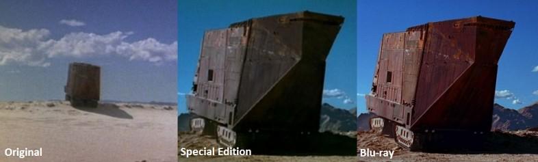 Star Wars Original Trilogy Changes The Good The Bad And The - Scenes original star wars created cgi